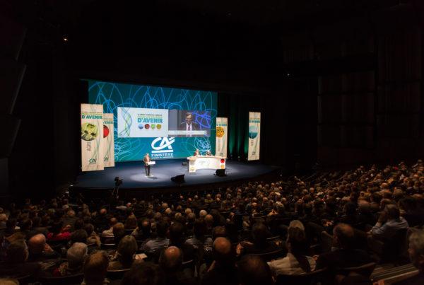 LABEL PRODUCTIONS Assemblée Générale Crédit Agricole 2014